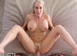 Mom watches son jerk off