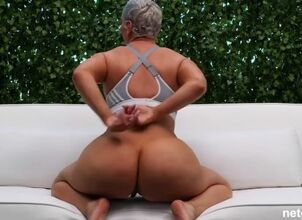Silver haired milf