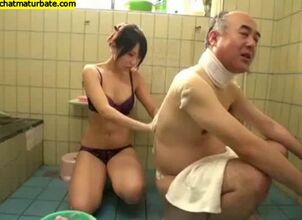 Japanese old man porn