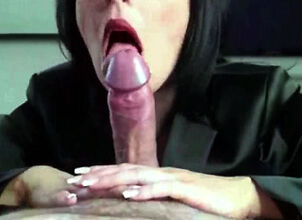 Mom cums first