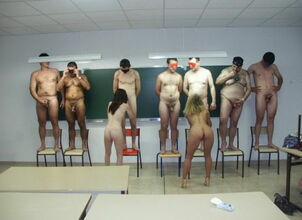 Nude teacher