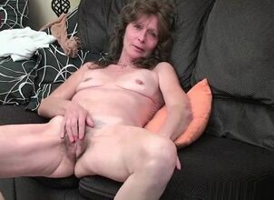 Saggy hairy mature