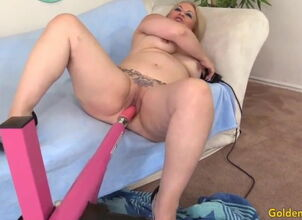 Mature fuck machine